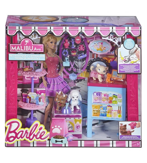 Barbie - Malibu Ave: Pet Boutique