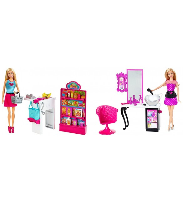 arbie Malibu Ave Shop with Doll Playset