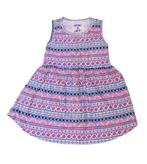 Primark Sunny And Happy Dress  - 3-4 Years & 4-5 Years & 5-6 Yeas