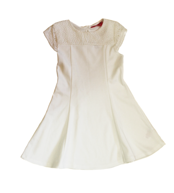 Primark White Dress -4-5 Years