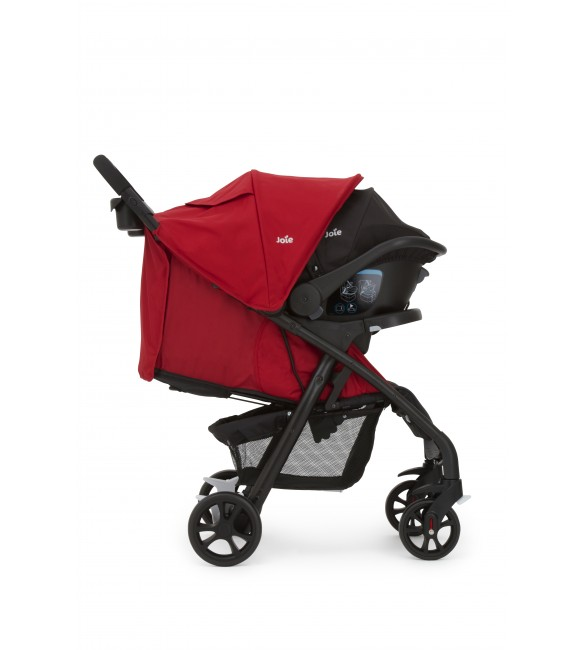 Joie Muze Travel System-Cherry
