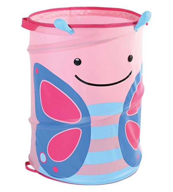 Skip Hop Zoo Pop-Up Hamper, - Butterfly