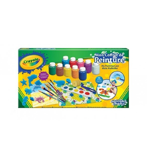 Crayola -Painting Case Under the sea
