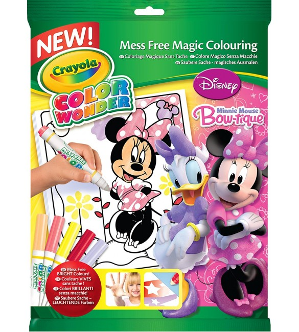 Crayola - Color Wonder Minnie Mouse