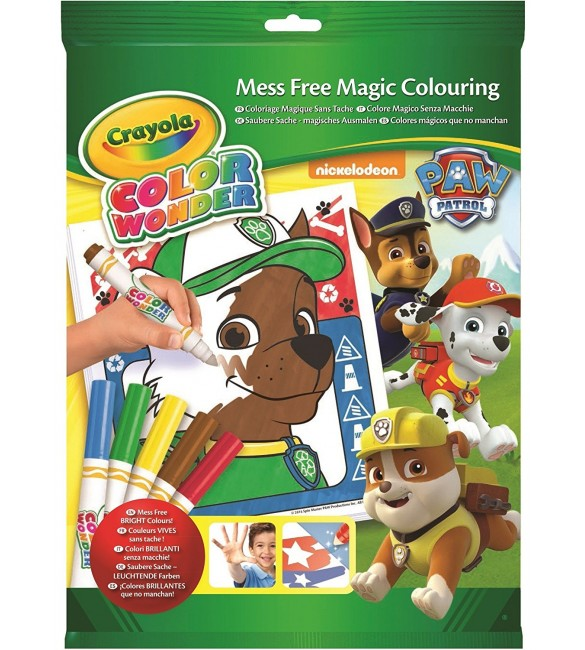 Crayola, Paw Patrol, Color Wonder Mess-Free Coloring Pad and Markers