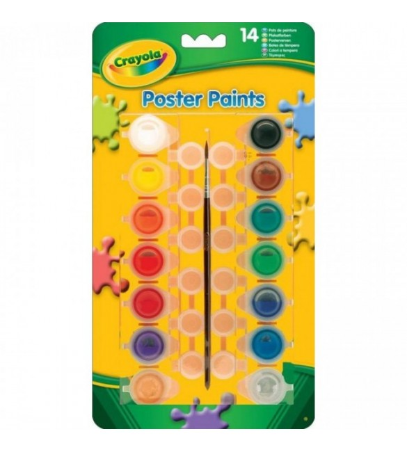 Crayola -14 Poster Paints