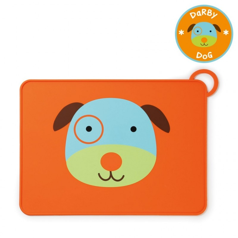 Dog Training Placemat: Skip Hop Baby Zoo Little Kid Placemats - Dog