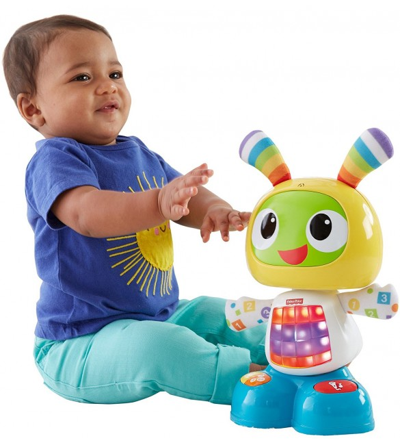 Fisher Price Bright Beats Dance and Move Beatbo, Multi Color