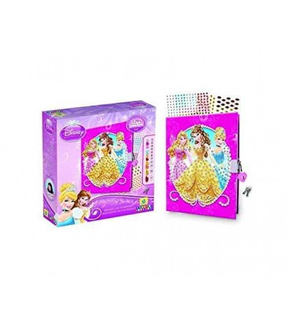 The Orb Factory Sticky Mosaics Disney Princess Diary