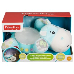 Fisher Price Hippo Plush Cuddle Projection Soother