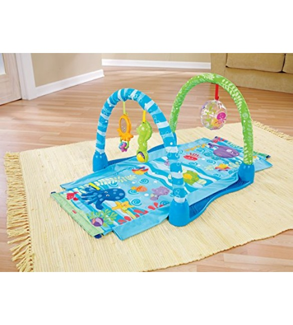 Fisher-Price Ocean Wonders Kick and Crawl Gym