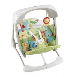 Fisher Price Rainforest Friends Take-Along Swing & Seat