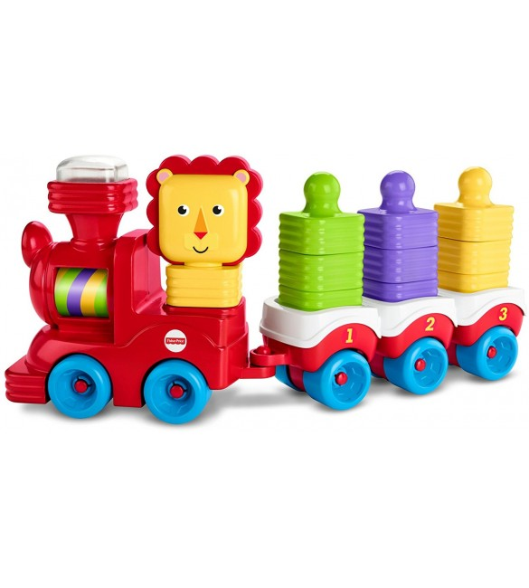 Little Stackers Lion Locomotive