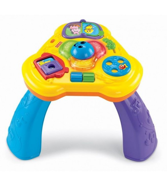 FISHER PRICE - BRILLIANT BASICS LIGHTS & SOUNDS ACTIVITY TABLE