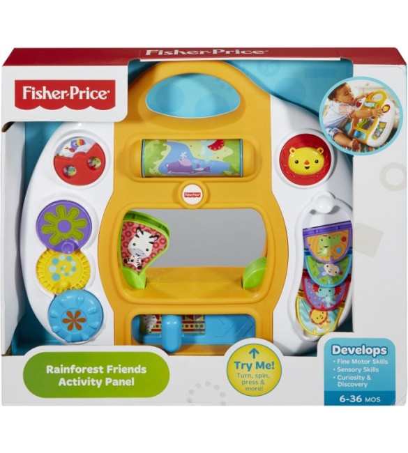 Fisher Price Rainforest Friends Activity Panel