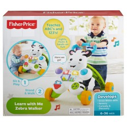Fisher-Price Learn with Me Zebra Walker