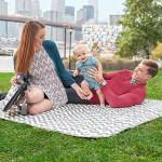 Skip Hop Central Park Blanket & Cooler Bag - Chevron