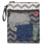 Skip Hop Grab & Go Wet / Dry Bag-Chevron