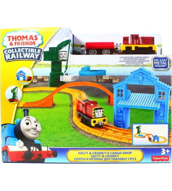 Trase Thomas & Friends Salty & Cranky's Cargo Drop