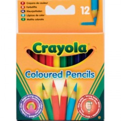 Crayola 12 Half Length Colour Pencils