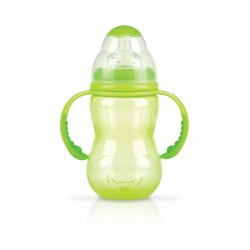 Nuby ID1094G Non-Drip Wide Neck Bottle 240 ml Green