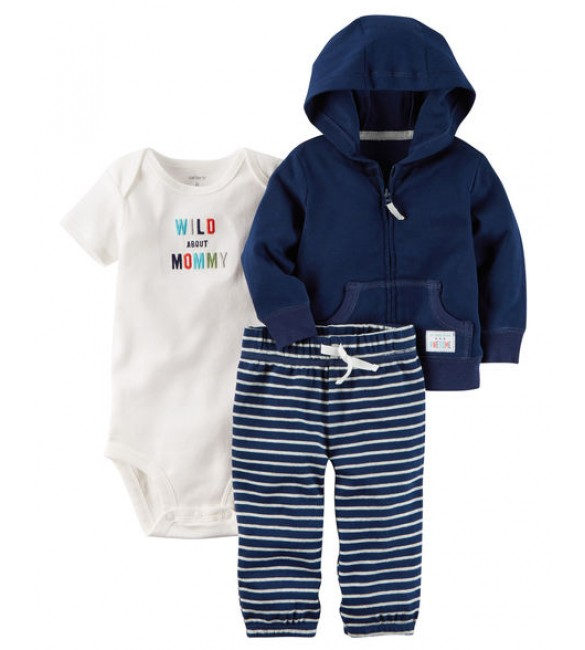 3-Piece Babysoft Little Jacket Set