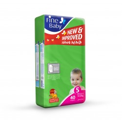 Fine Baby Super Dry - Smart Lock, Maxi 10-22 Kgs, Jumbo Pack