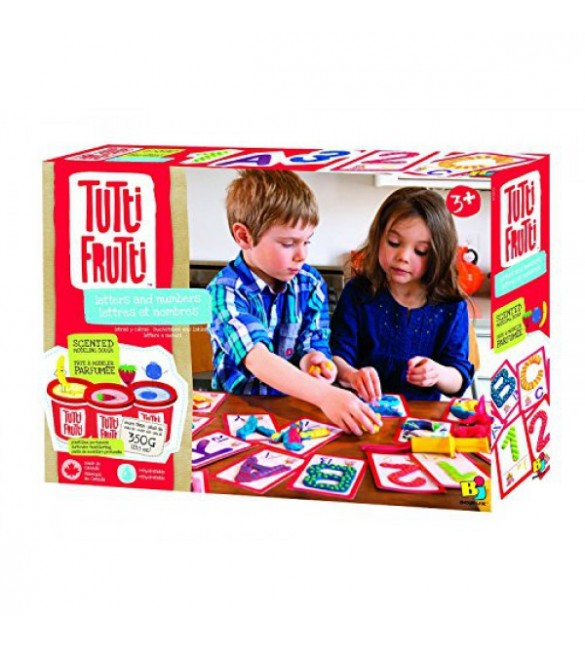 Tutti Frutti Dough Letters and Numbers