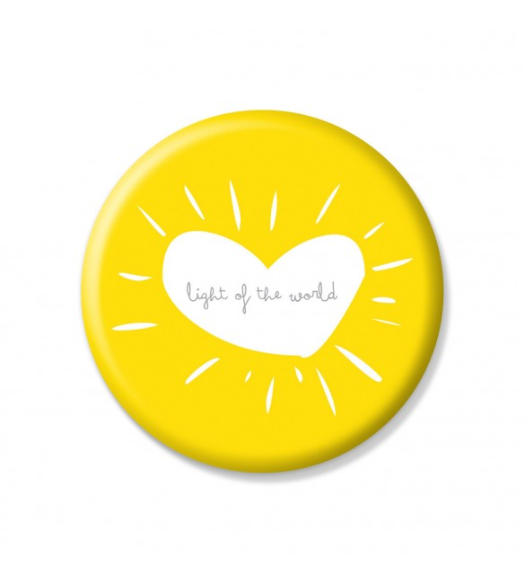 Light Of The World Pin