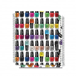 YM Sketch -  Nail Polish Note Book - 80 pages 15×20 cm