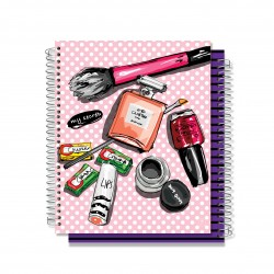YM Sketch - Nail Polish Note Book - 120 Pages 26x21cm