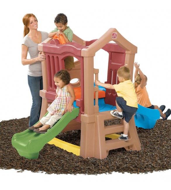 Step 2 Play Up Double Slide Climber