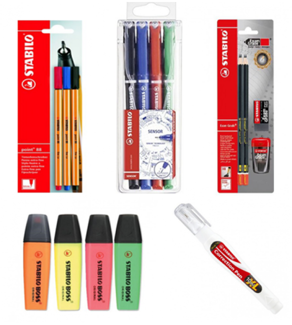 Back to School Stationery Super Package