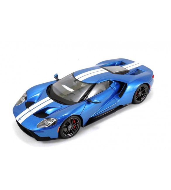 2017 FORD GT BLUE EXCLUSIVE EDITION 1:18 DIECAST MODEL CAR BY MAISTO