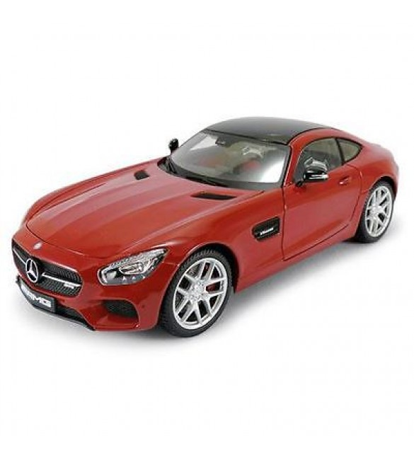 MERCEDES AMG GT RED EXCLUSIVE EDITION 1/18 DIECAST MODEL CAR BY MAISTO