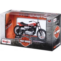Maisto 39360 Die-cast 1:18 HD Series 28-33 Motor Cycle with Stand