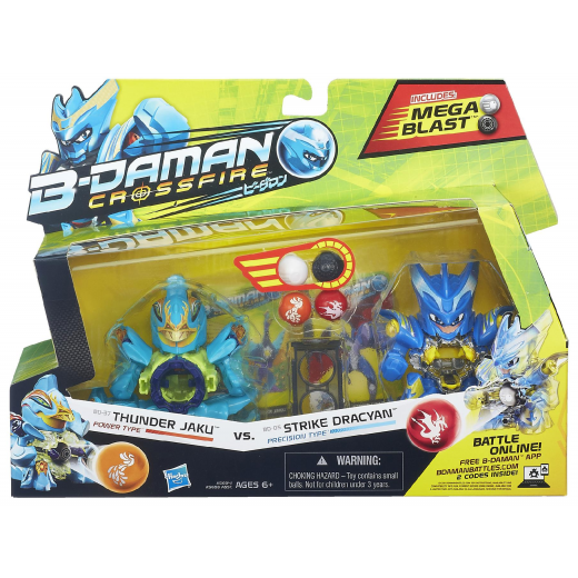 B-DAMAN Thunder Jaku vs. Strike Dracyan