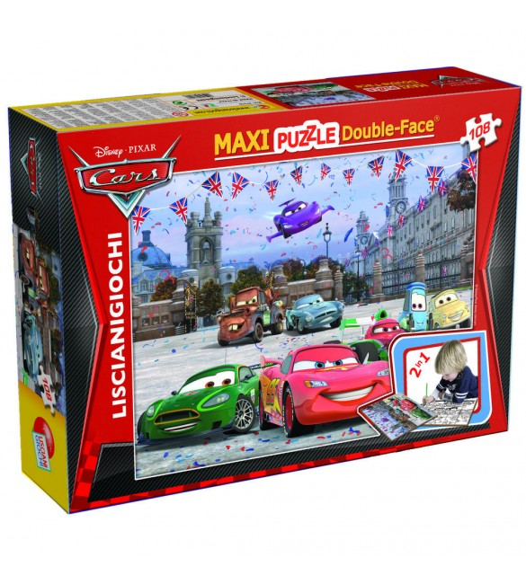 PUZZLE DF SUPERMAXI 108 CARS