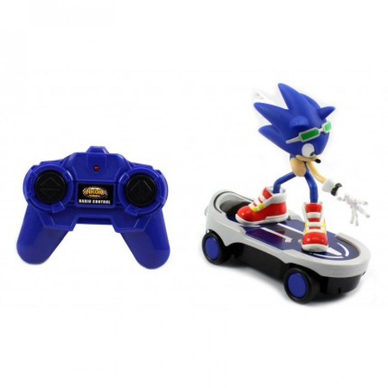 Kids Play With Sonic Exe Toys And Super Sonic Exe Toys: SONIC FULL FUNCTION REM CONT FREE RIDERSNew Boy