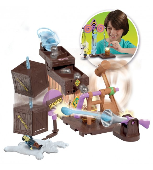 SCOOBY DOO MEGA TRAP BUILDING KIT
