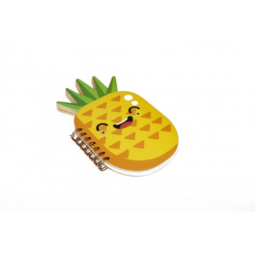 Wire Notebook - Pineapple