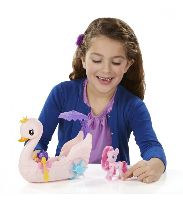 My Little Pony Swan Boat - Playing Set