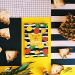 Hard Cover Notebooks - Wake Me Up When Its Summer (Yellow)