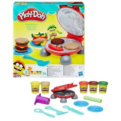 Play-Doh Burger Party