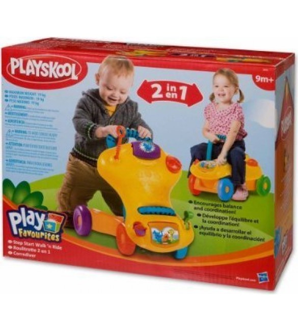 "Playskool Step Start Walk ""n Ride"