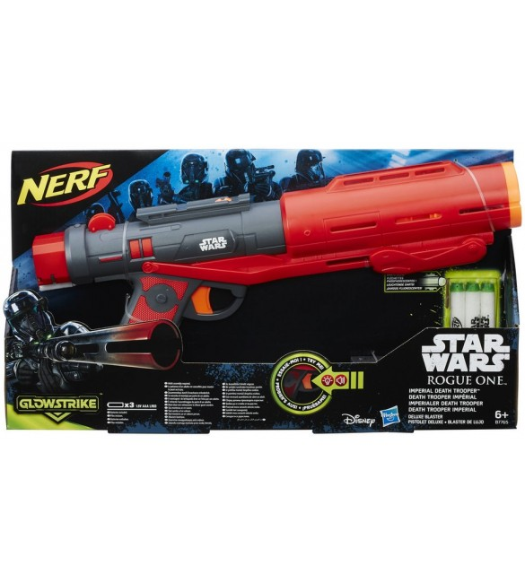 Star Wars R1 Nerf Imperial Death Trooper Deluxe Blaster