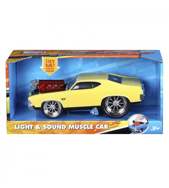Bburago Muscle Machines Light & Sound Chevrolet Chevelle SS