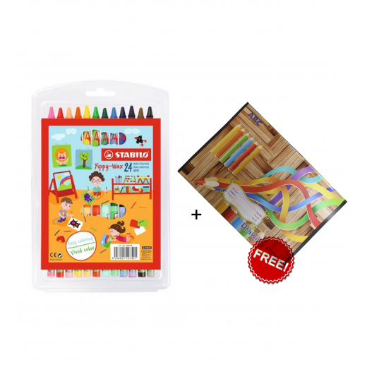 Stabilo Yippy Wax Crayons Offer