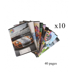 10 ABC Sleeved notebook Arabic 40 pages