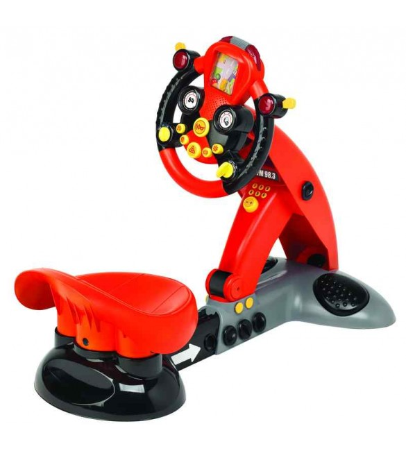 Racing simulator for toddlers